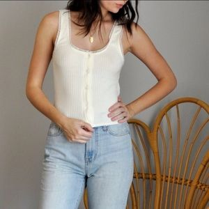 Reformation Gianna Tank Top